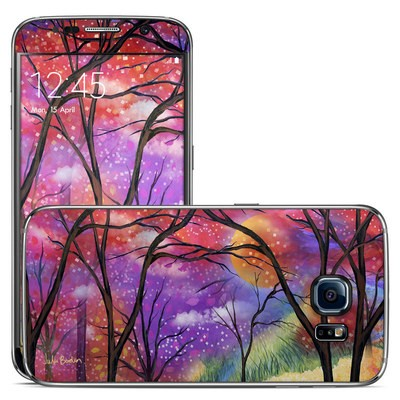 Samsung Galaxy S6 Skin - Moon Meadow