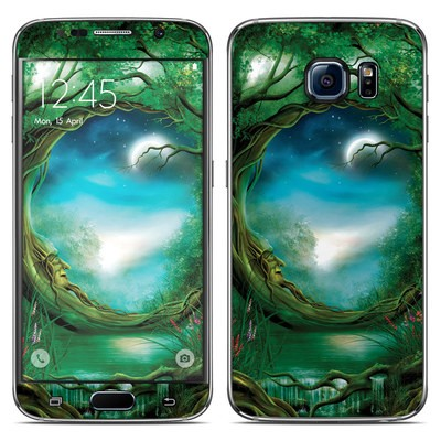 Samsung Galaxy S6 Skin - Moon Tree