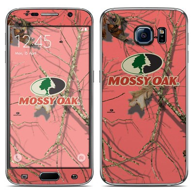 Samsung Galaxy S6 Skin - Break-Up Lifestyles Salmon