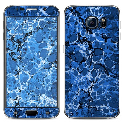 Samsung Galaxy S6 Skin - Marble Bubbles
