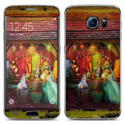 Samsung Galaxy S6 Skin - A Mad Tea Party