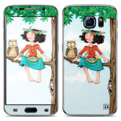 Samsung Galaxy S6 Skin - Never Alone