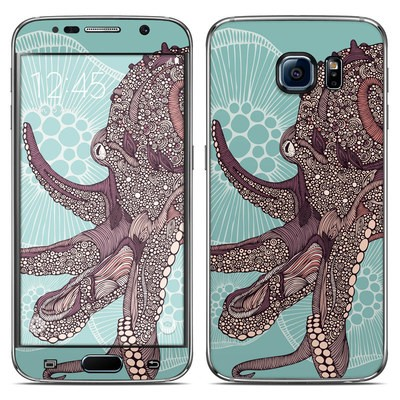 Samsung Galaxy S6 Skin - Octopus Bloom