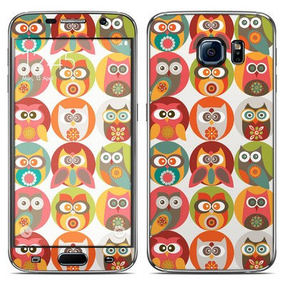 Samsung Galaxy S6 Skin - Owls Family