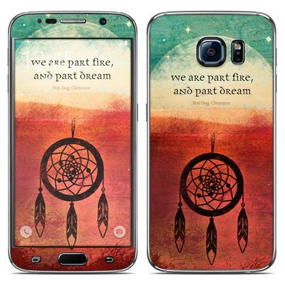 Samsung Galaxy S6 Skin - Part Fire