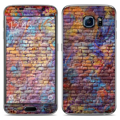 Samsung Galaxy S6 Skin - Painted Brick