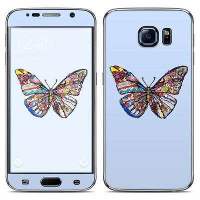 Samsung Galaxy S6 Skin - Pieced Butterfly