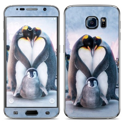 Samsung Galaxy S6 Skin - Penguin Heart