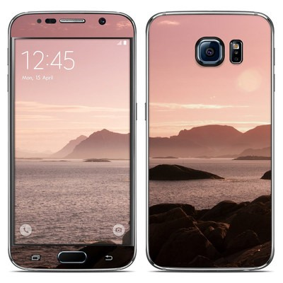 Samsung Galaxy S6 Skin - Pink Sea