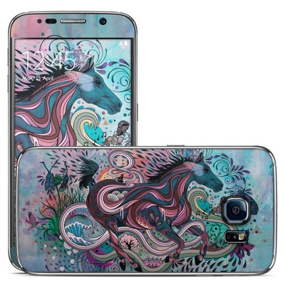 Samsung Galaxy S6 Skin - Poetry in Motion