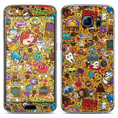 Samsung Galaxy S6 Skin - Psychedelic