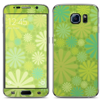 Samsung Galaxy S6 Skin - Lime Punch