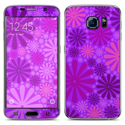 Samsung Galaxy S6 Skin - Purple Punch