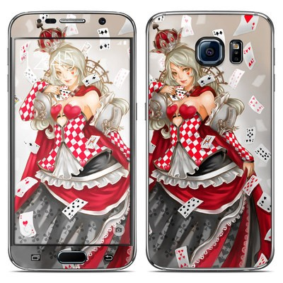 Samsung Galaxy S6 Skin - Queen Of Cards
