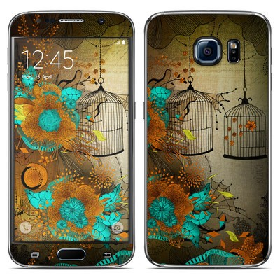 Samsung Galaxy S6 Skin - Rusty Lace