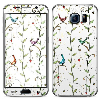 Samsung Galaxy S6 Skin - Royal Birds