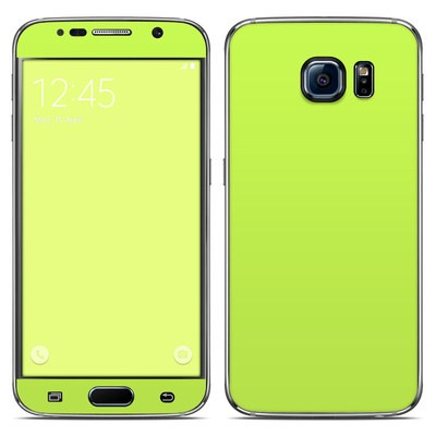 Samsung Galaxy S6 Skin - Solid State Lime
