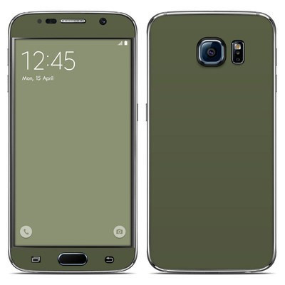 Samsung Galaxy S6 Skin - Solid State Olive Drab