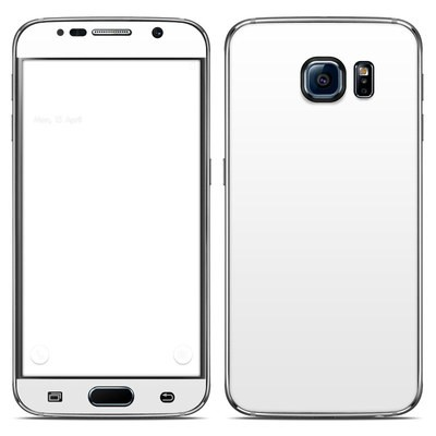 Samsung Galaxy S6 Skin - Solid State White