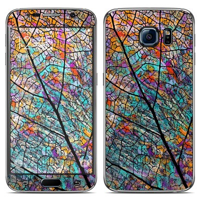 Samsung Galaxy S6 Skin - Stained Aspen