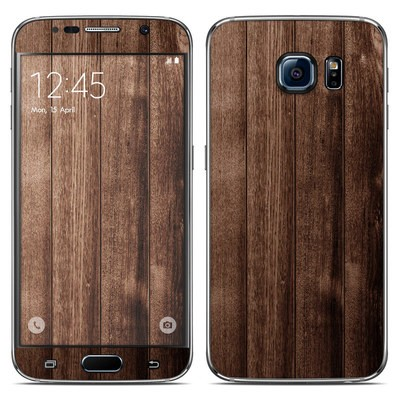 Samsung Galaxy S6 Skin - Stained Wood