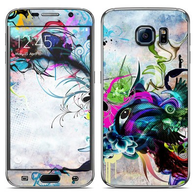Samsung Galaxy S6 Skin - Streaming Eye