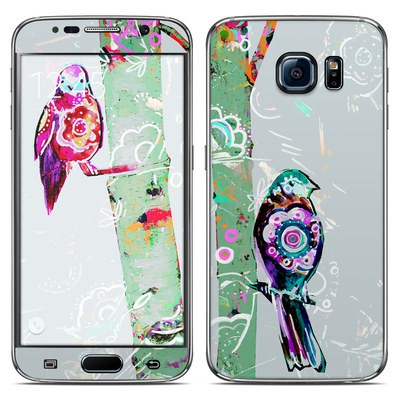 Samsung Galaxy S6 Skin - Summer Birch