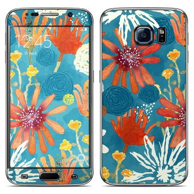 Samsung Galaxy S6 Skin - Sunbaked Blooms