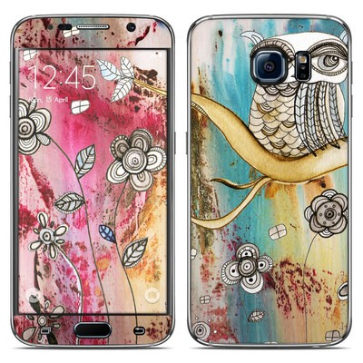 Samsung Galaxy S6 Skin - Surreal Owl