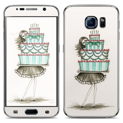 Samsung Galaxy S6 Skin - She Takes The Cake