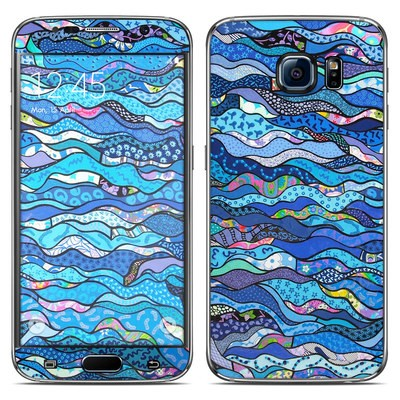 Samsung Galaxy S6 Skin - The Blues