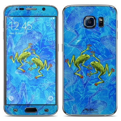 Samsung Galaxy S6 Skin - Tiger Frogs