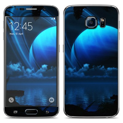 Samsung Galaxy S6 Skin - Tropical Moon