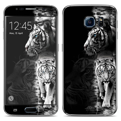 Samsung Galaxy S6 Skin - White Tiger