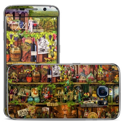 Samsung Galaxy S6 Skin - Wine Shelf