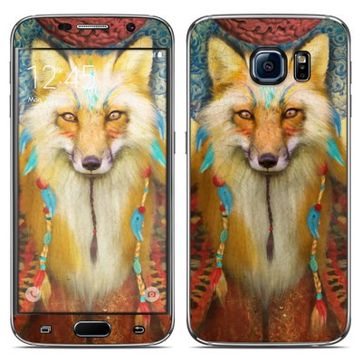 Samsung Galaxy S6 Skin - Wise Fox
