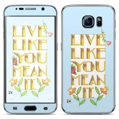 Samsung Galaxy S6 Skin - Mean It