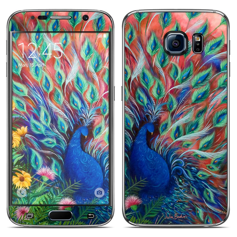 Samsung Galaxy S6 Skin - Coral Peacock By Juleez