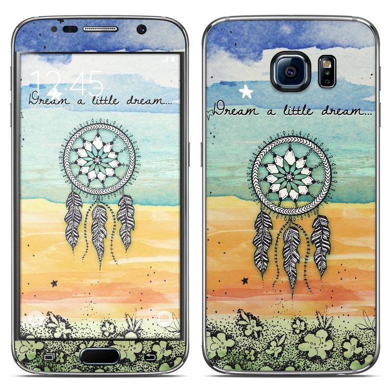 Samsung galaxy s6 skin dream a little by true spirit art for Dream home season 6