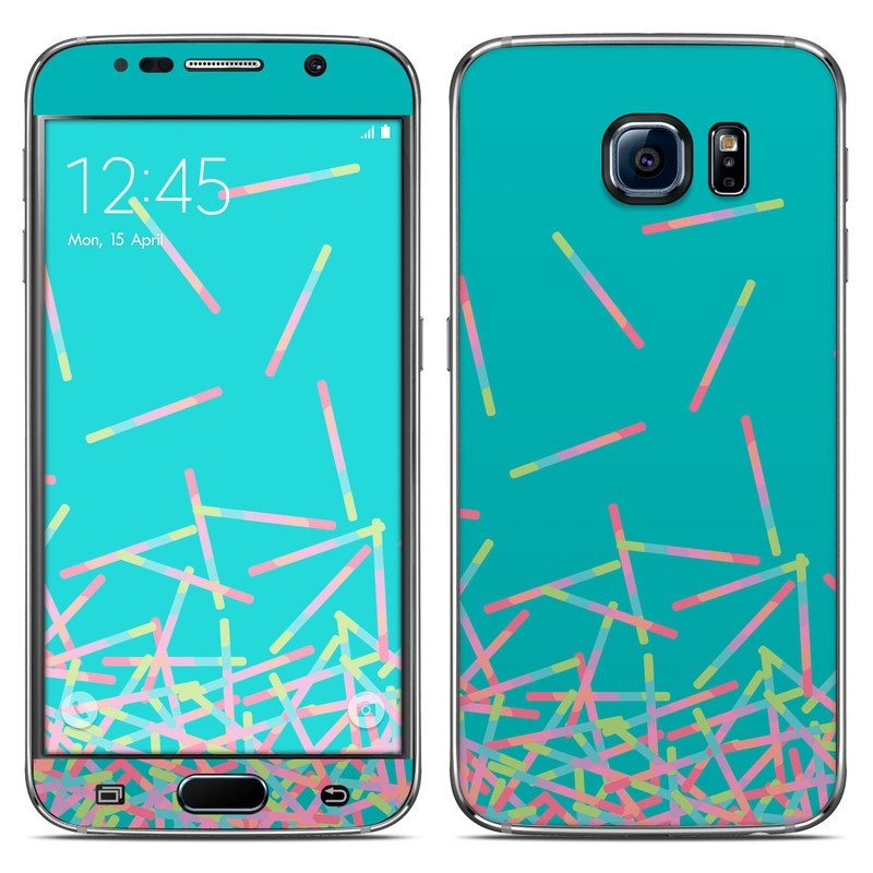 Samsung galaxy s6 skin pop rocks wands by carol van for Samsung wand