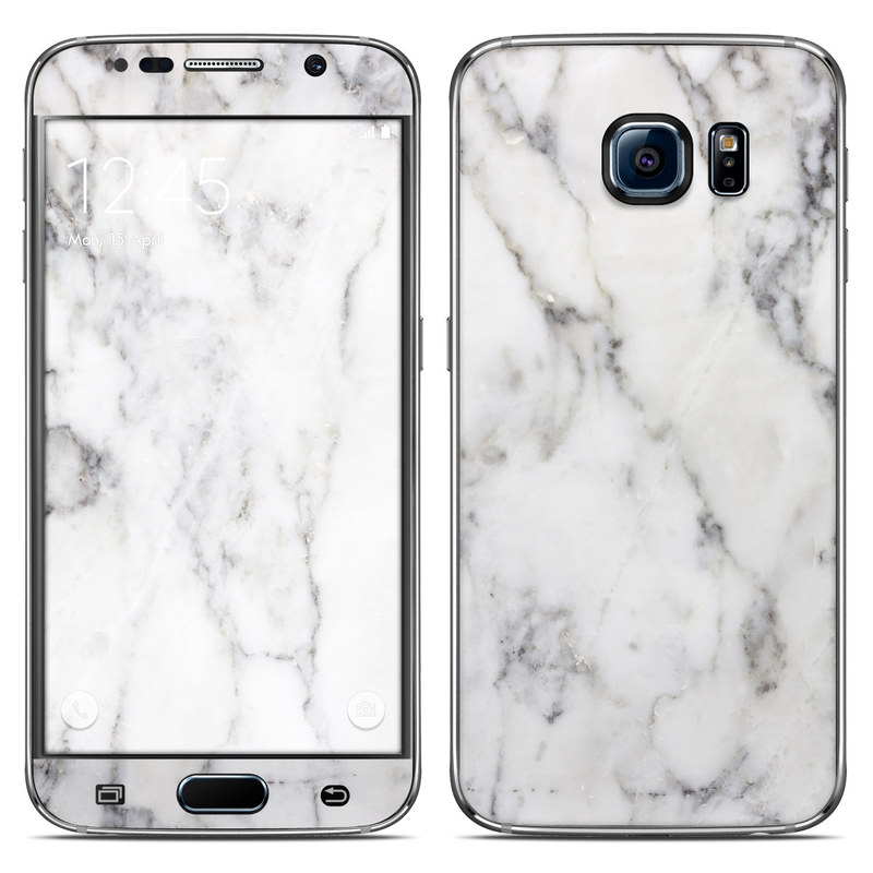 samsung galaxy s6 phone case marble