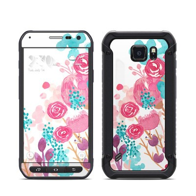 Samsung Galaxy S6 Active Skin - Blush Blossoms