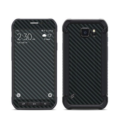 Samsung Galaxy S6 Active Skin - Carbon