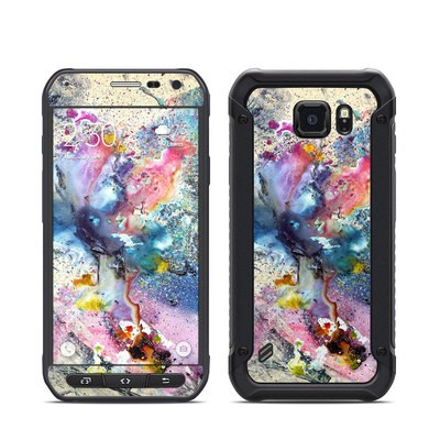 Samsung Galaxy S6 Active Skin - Cosmic Flower