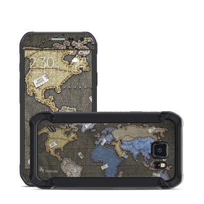 Samsung Galaxy S6 Active Skin - Jean Map