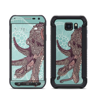 Samsung Galaxy S6 Active Skin - Octopus Bloom