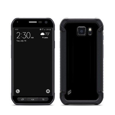 Samsung Galaxy S6 Active Skin - Solid State Black