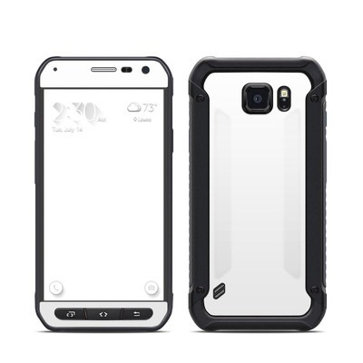 Samsung Galaxy S6 Active Skin - Solid State White