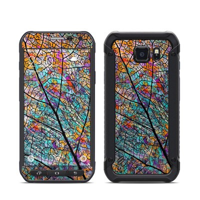 Samsung Galaxy S6 Active Skin - Stained Aspen