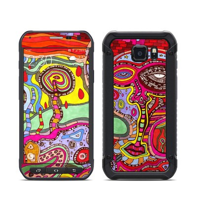 Samsung Galaxy S6 Active Skin - The Wall